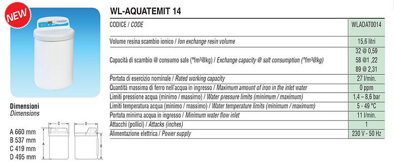 Addolcitore Facot WL-AQUATEMIT 14